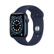 Apple Watch Series 6 GPS 40мм Aluminum Case with Sport Band, синий/темный ультрамарин