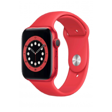 Apple Watch Series 6 GPS 44мм Aluminum Case with Sport Band, (PRODUCT)RED