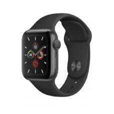 Apple Watch Series 5 GPS 40мм Aluminum Case with Sport Band, серый космос/черный