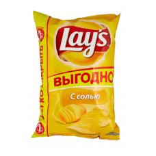 Чипсы Lay's картофельные с Солью, 225 г