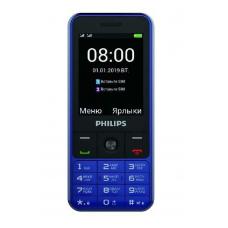 Philips Xenium E182, Синий