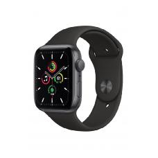 Apple Watch SE GPS 44мм Aluminum Case with Sport Band, серый космос/черный