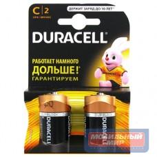 Батарейка Duracell C LR14-2BL