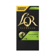 Кофе капсульный L`OR Espresso Lungo Elegante