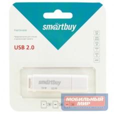 Картридер Smartbuy белый (SBR-715-W)