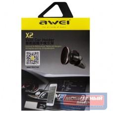 Держатель в автомобиль Awei X2 универсальный