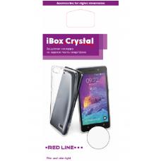 Накладка силиконовая iBox Crystal для Meizu Pro 7