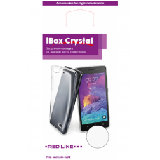 Накладка силиконовая iBox Crystal для Meizu M6 Note